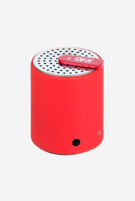 QFX CS27BT Portable Bluetooth Speaker (Red)