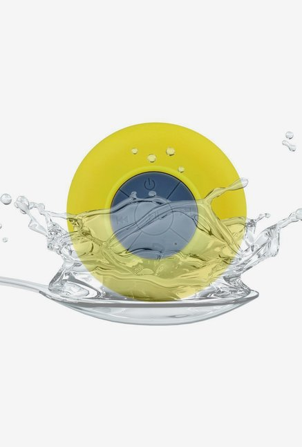 Afunta Waterproof Mini Bluetooth Speaker (Yellow)