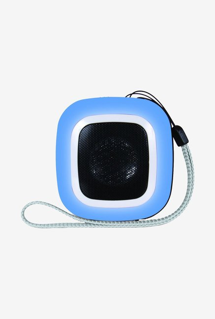Isound 1602 Square Mini Speaker (Blue)
