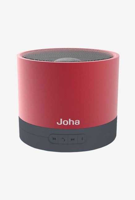 Joha JBS601 Bass Speaker with Microphone (Red)