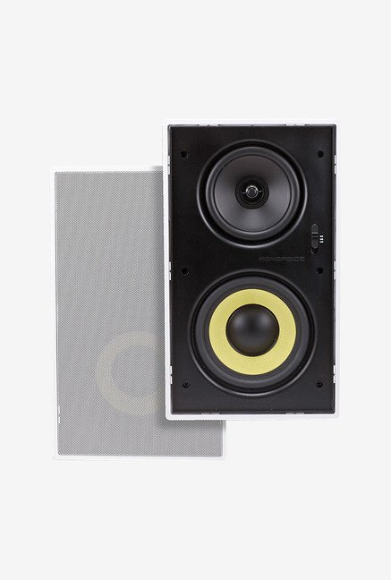 Monoprice 107604 3-Way Speaker (Black)