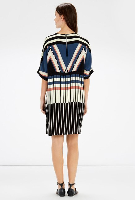 Warehouse Multicolor Printed Shift Dress