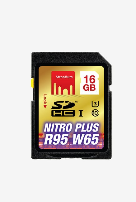 Strontium 16 GB Nitro Plus SDHC UHS-1 Support 4K Memory Card
