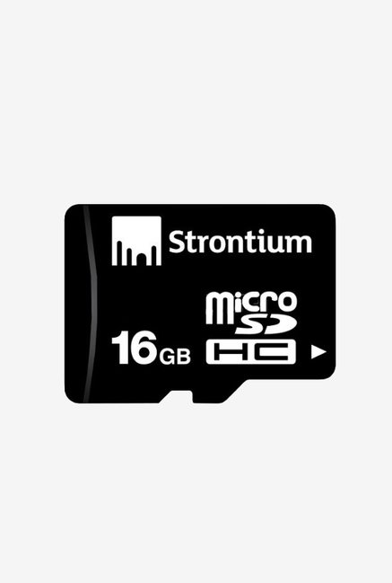 Strontium 16 GB Micro SD With Adapter Class 10 Memory Card