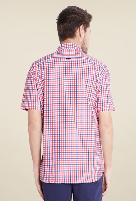 Parx Pink Checks Shirt