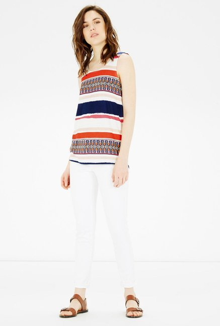 Warehouse Multicolor Printed Top