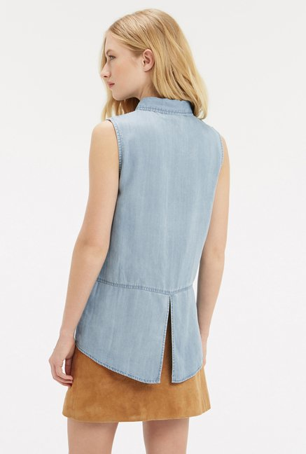 Oasis Denim Blue Shirt