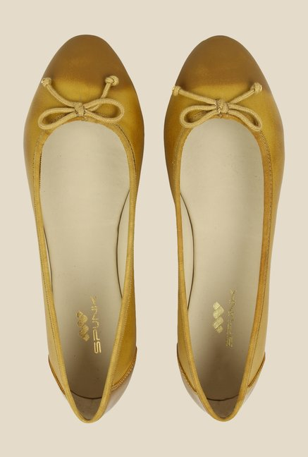 Spunk Amuse Yellow Ballerinas