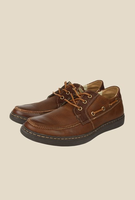 Spunk Bentley Brown Boat Shoes