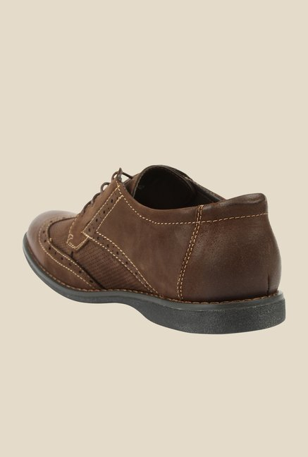 Spunk Aston Coffee Brogue Shoes