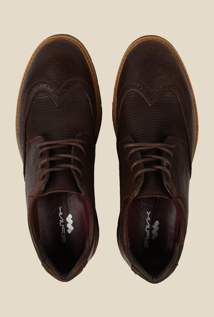 Spunk Chealsea Brown Brogue Shoes