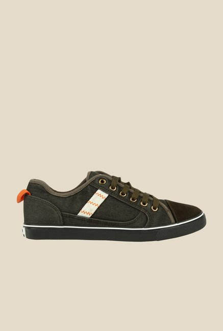 Spunk Crave Olive Green Sneakers