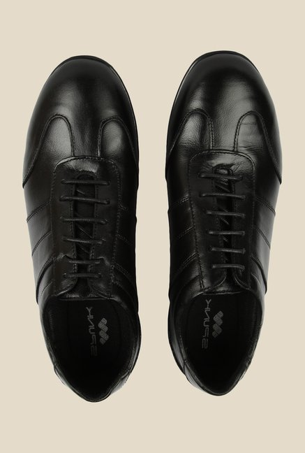 Spunk Era Black Oxford Shoes