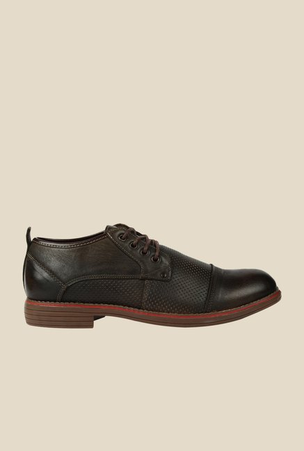 Spunk Patrick Dark Brown Derby Shoes