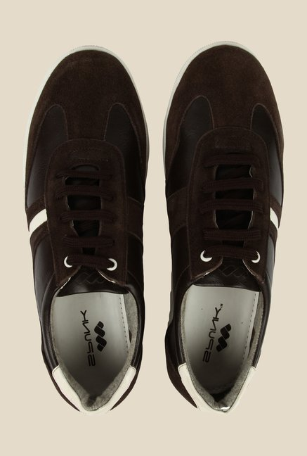 Spunk Ottawa Brown & White Sneakers