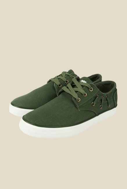Spunk Sprinter Green Casual Shoes