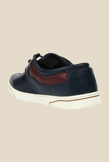 Spunk Wink Navy Casual Shoes