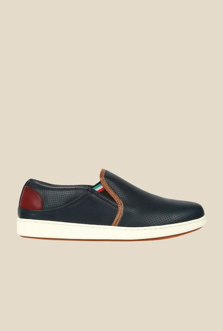 Spunk Steam Navy Plimsolls