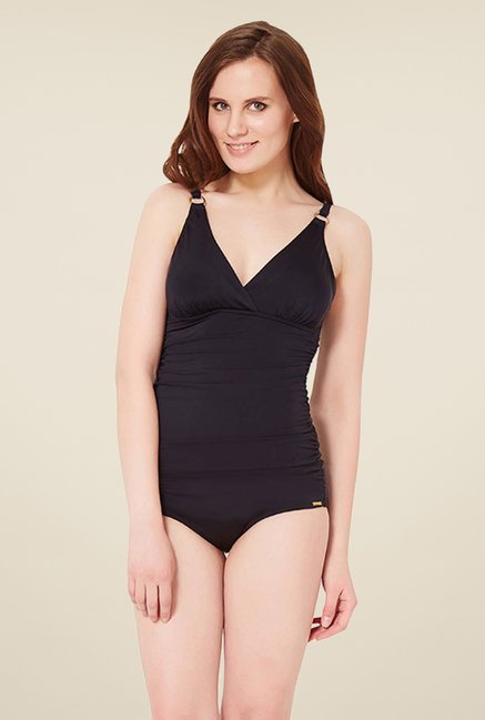 Amante Black Shaping Swimsuit