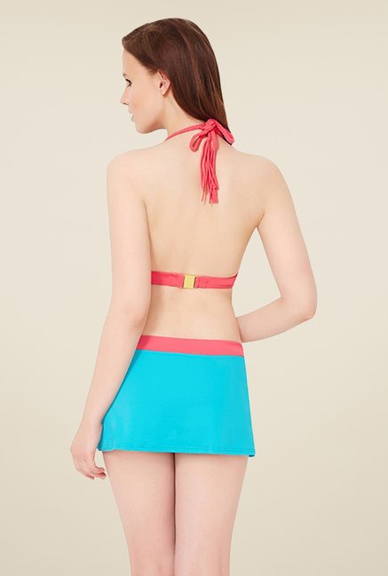 Amante Turquoise Swimwear Skirtini