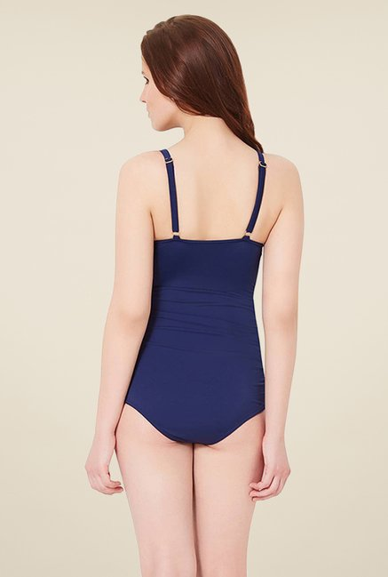 Amante Navy Shaping Swimsuit