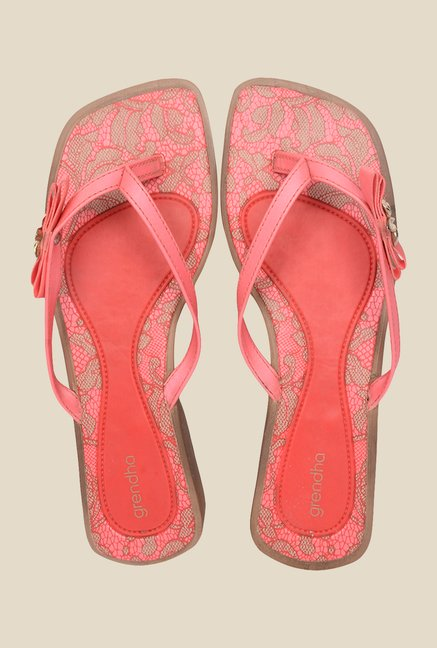 Grendha Red Thong Sandals