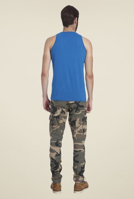 Jack & Jones Dark Blue Printed T Shirt