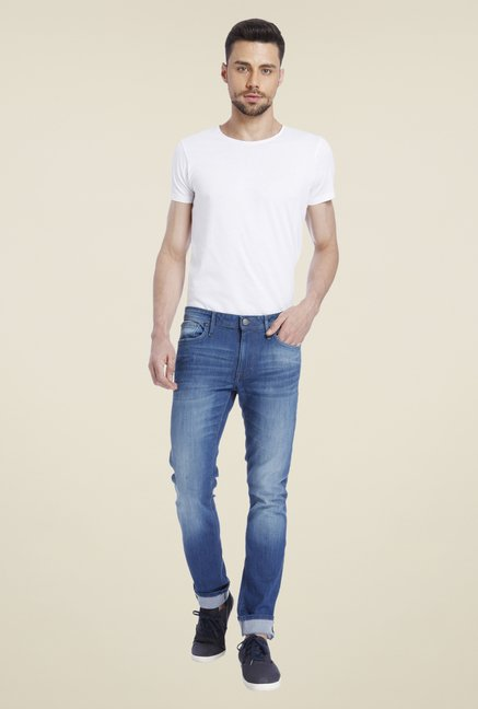 Jack & Jones Dark Blue Skinny Fit Jeans
