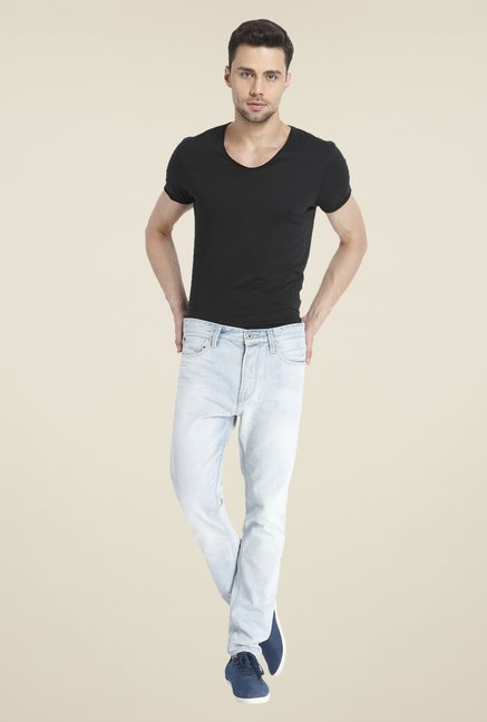 Jack & Jones Light Blue Raw Denim Jeans