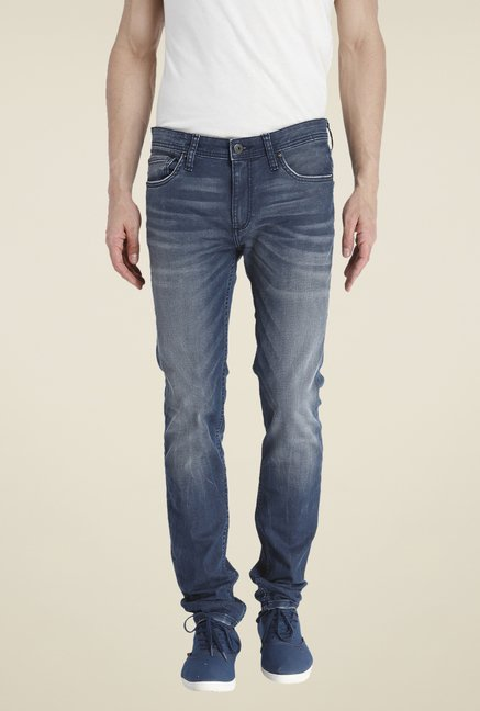 Jack & Jones Blue Skinny Fit Jeans