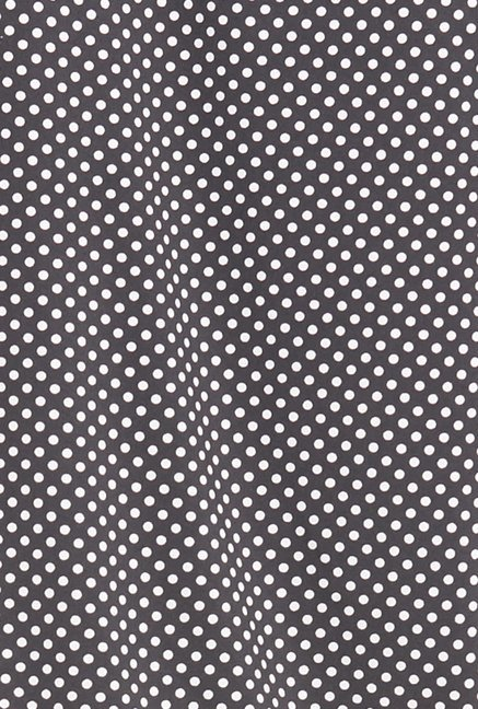 Globus Black Polka Printed Top