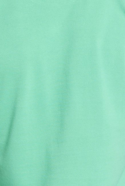 Globus Green Solid Polo T Shirt