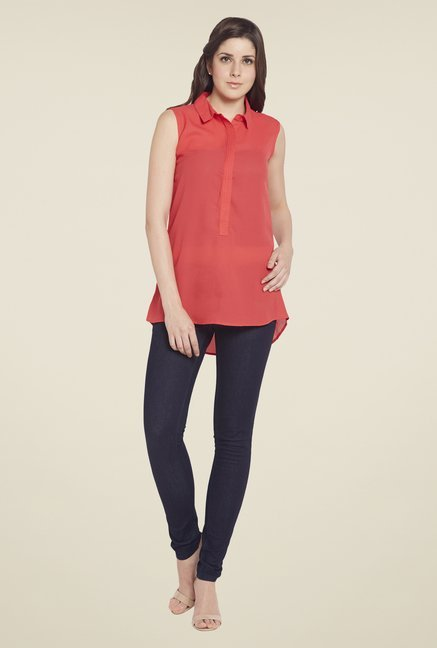 Globus Coral Solid Tunic