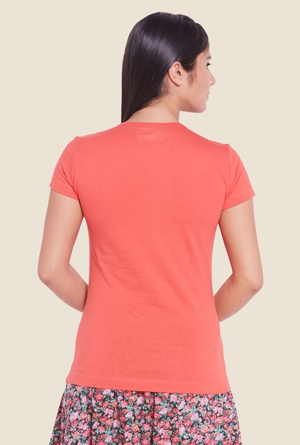 Globus Coral Solid T-shirt