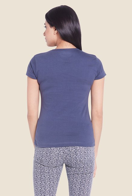 Globus Navy Solid T-shirt