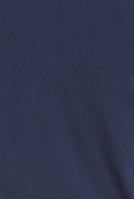 Globus Navy Solid Polo T Shirt