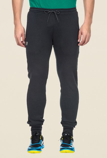 Puma Grey Cotton Track Pants