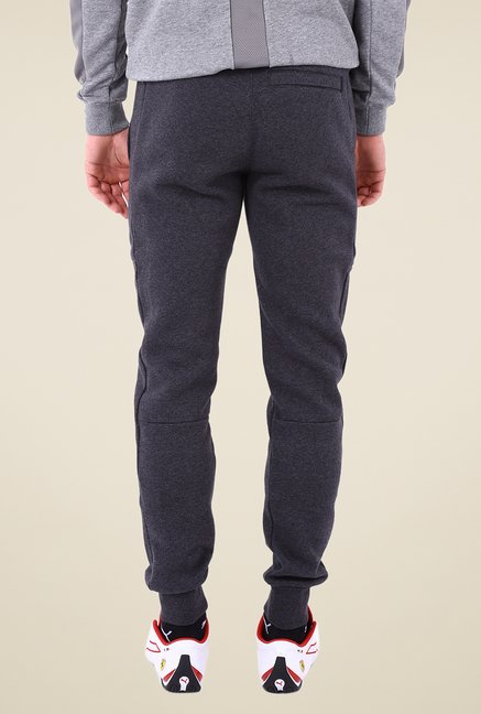 Puma Dark Grey Solid Joggers