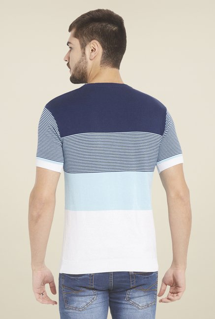 Globus Navy Striped T Shirt