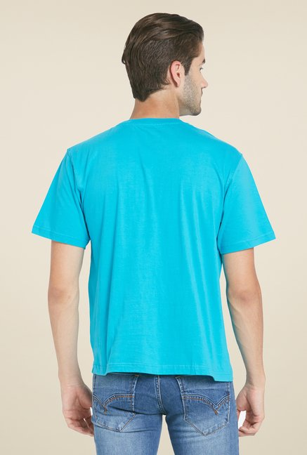 Globus Turquoise Solid T Shirt