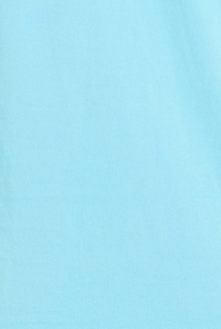 Globus Turquoise Solid Polo T Shirt
