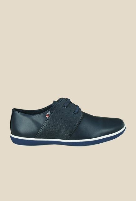 Arrow Navy Derby Casual Shoes