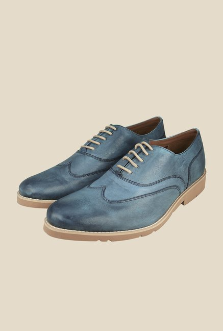 Arrow Blue Oxford Casual Shoes