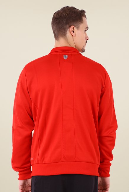 Puma Red Solid Sports Jacket