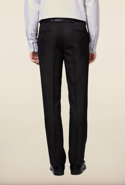University of Oxford Grey Solid Formal Trouser