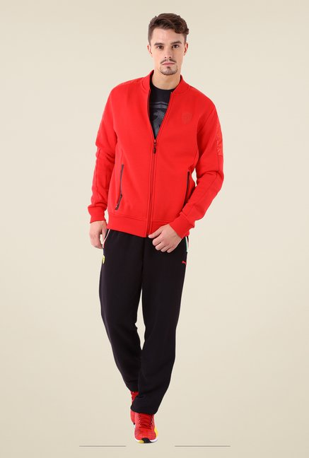 Puma Red Solid Jacket
