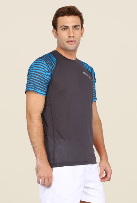 Puma Dark Grey Printed T Shirt