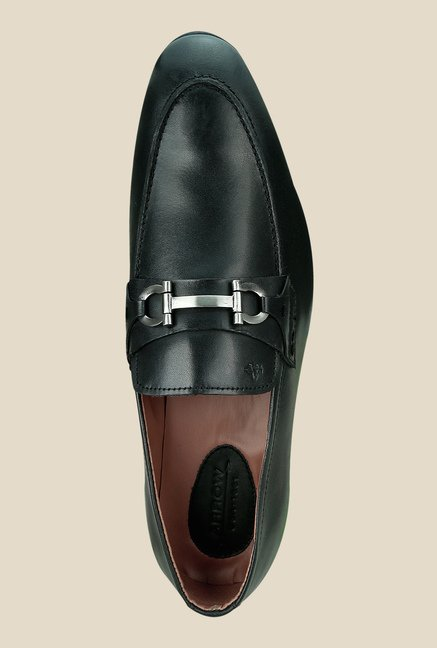 Arrow Black Formal Slip-Ons