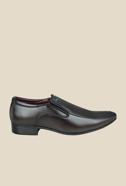 Arrow Brown Formal Slip Ons