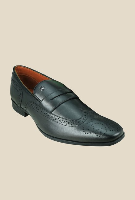 Arrow Black Brogue Formal Shoes